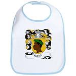 Kopp Family Crest Bib