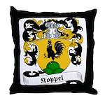 Koppel Family Crest Throw Pillow