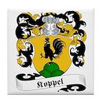 Koppel Family Crest Tile Coaster