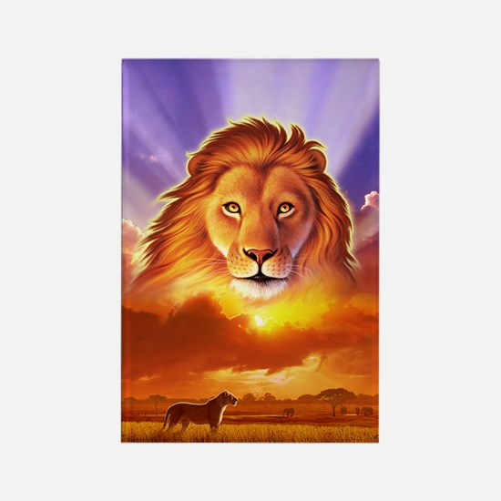 Lion King Rectangle Magnet