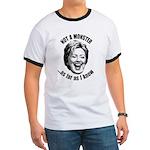 Hillary - Not A Monster Ringer T