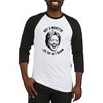 Hillary - Not A Monster Baseball Jersey