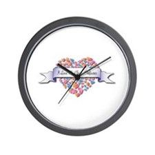 Love My Claims Adjuster Wall Clock