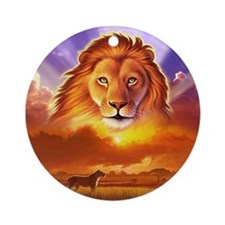 Lion King Ornament (Round)