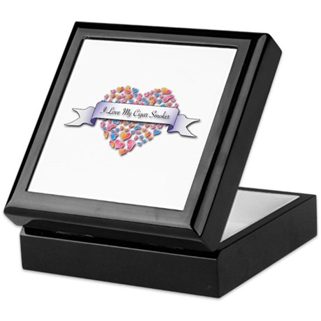 Love My Cigar Smoker Keepsake Box