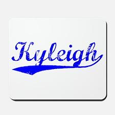 Vintage Kyleigh (Blue) Mousepad