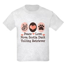 Peace Love Toller T-Shirt