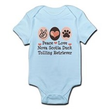 Peace Love Toller Infant Bodysuit