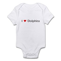 I Love Dolphins Infant Creeper