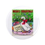 "Holiday Package 3.5"" Button (100 pack)"