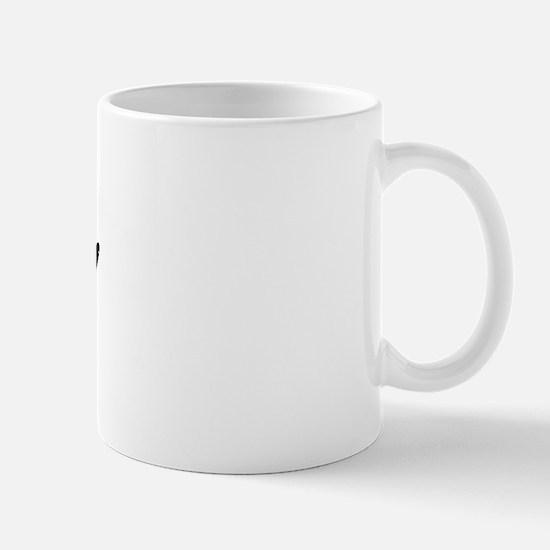 Vintage Cara (Black) Mug
