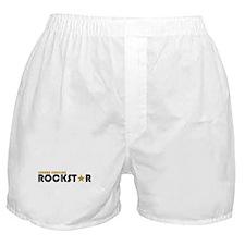 Square Dancing Rockstar Boxer Shorts