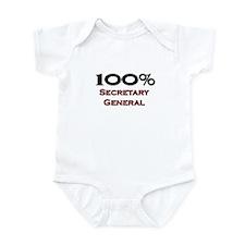 100 Percent Secretary General Onesie
