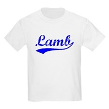 Vintage Lamb (Blue) T-Shirt