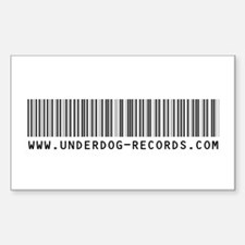 Underdog Rectangle Decal