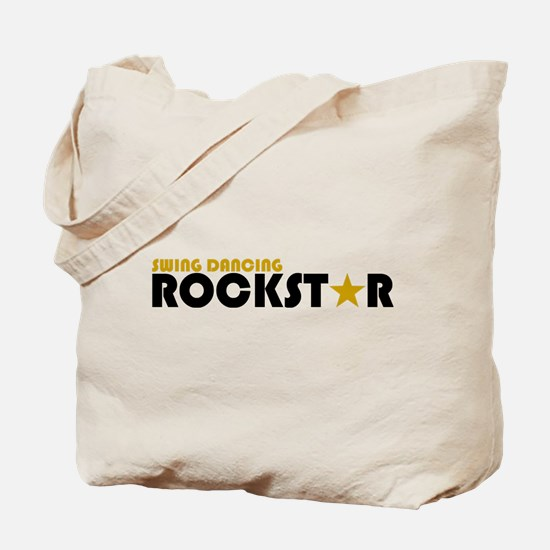 Swing Dancing Rockstar Tote Bag