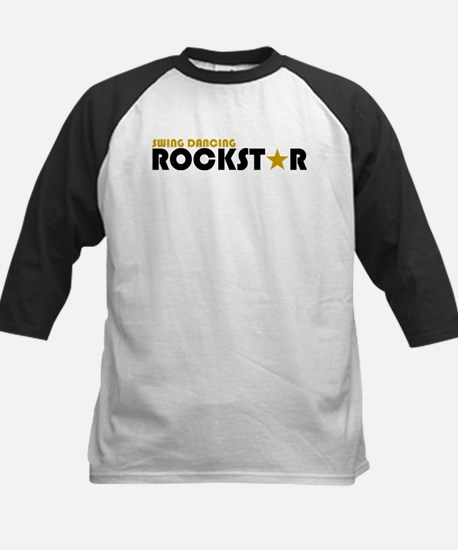 Swing Dancing Rockstar Kids Baseball Jersey