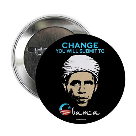 """Obama - Change 2.25"""" Button (10 pack)"""