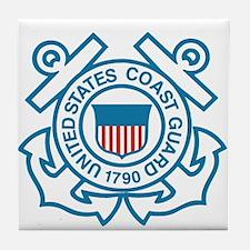 US Coast Guard Tile Coaster