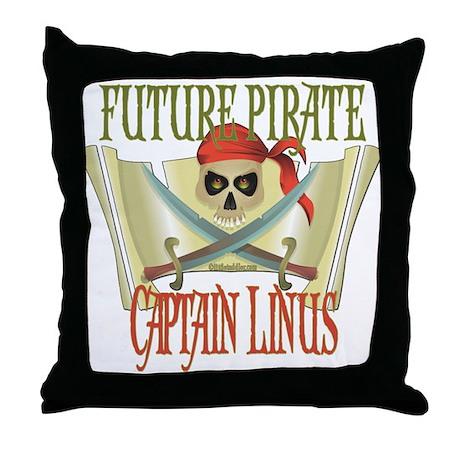 Captain Linus Throw Pillow