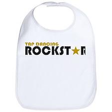 Tap Dancing Rockstar Bib
