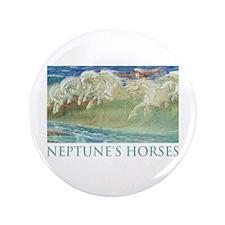 "NEPTUNE'S HORSES 3.5"" Button"