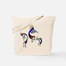 Three Kokopelli #108 Tote Bag