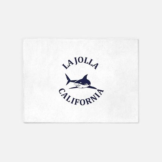Summer la jolla shores- california 5'x7'Area Rug