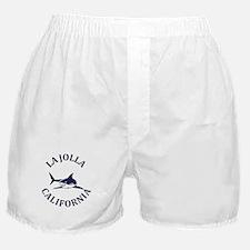 Summer la jolla shores- california Boxer Shorts
