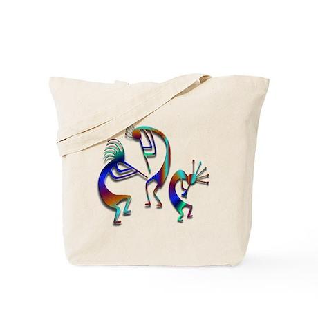 Three Kokopelli #109 Tote Bag
