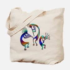 Three Kokopelli #109 Tote Bag
