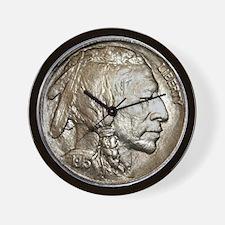 Classic Indian head Nickel Wall Clock