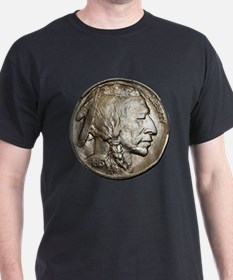 Classic Indian head NickelDark T-Shirt