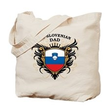 Number One Slovenian Dad Tote Bag