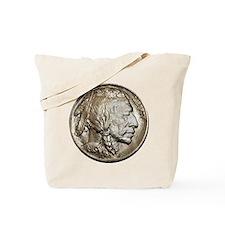 Classic Nickel Indian w/ Buffalo Tote Bag