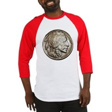 Classic Indian head Nickel Two Sided B-ball Jersey