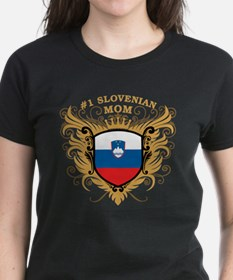 Number One Slovenian Mom Tee