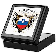 Number One Slovenian Mom Keepsake Box