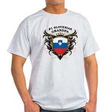 Number One Slovenian Grandpa T-Shirt