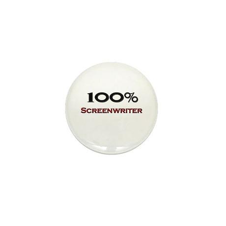 100 Percent Screenwriter Mini Button (10 pack)