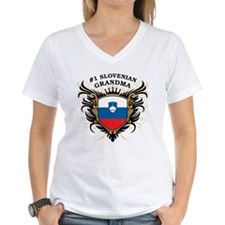 Number One Slovenian Grandma Shirt