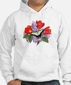Yellow Swallowtail Butterfly Hoodie
