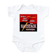 Needle in a haystack Infant Bodysuit