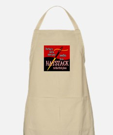 Needle in a haystack BBQ Apron