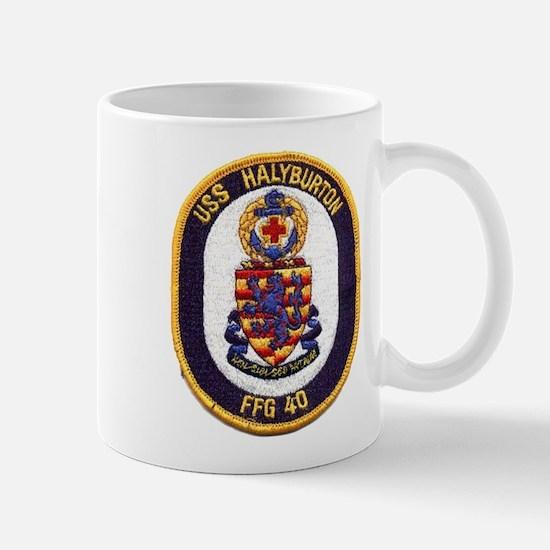 USS HALYBURTON Mug