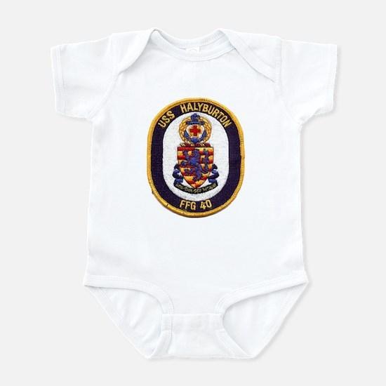 USS HALYBURTON Infant Bodysuit