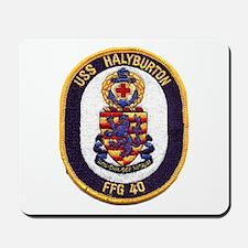 USS HALYBURTON Mousepad