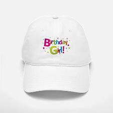 birthday girl coloful Baseball Baseball Cap