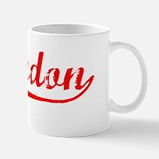 Vintage Braydon (Red) Mug