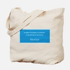 """ROBERT LYND QUOTATION"" BIRDER BAG"